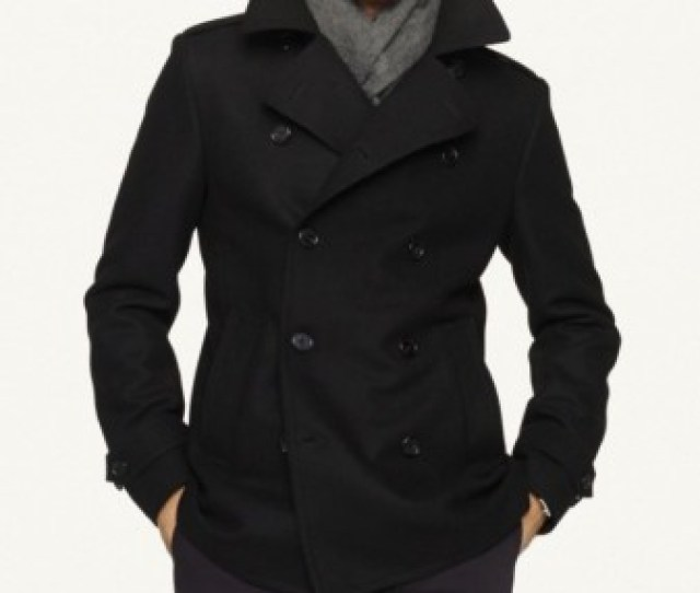 Mens Laser Cut Wool Pea Coat Buy Black Long Men Wool Coat100 Wool Pea Coatsdesigner Mens Wool Coat Product On Alibaba Com