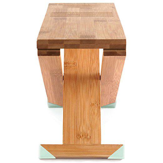 tabouret de salle de bains reglable pliant en bois en bambou pour toilette buy tabouret de toilette pliant en bambou tabourets en bois