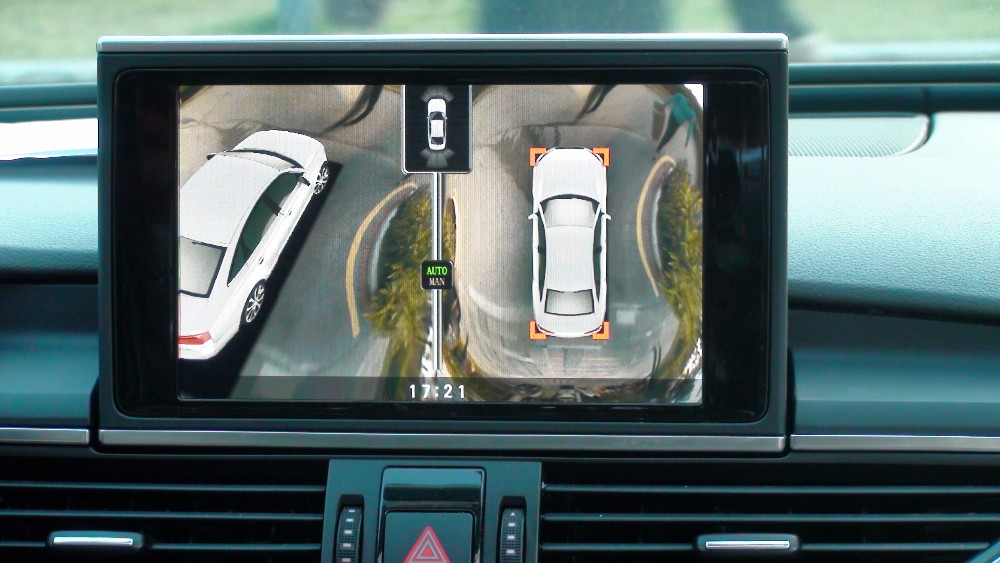 3d Car Parking System For Audi 360 Degree Camera Bird View