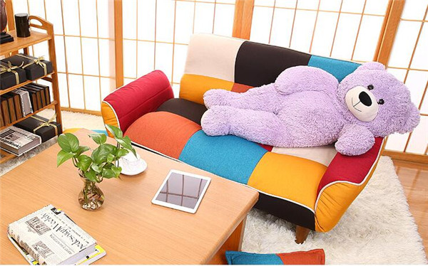 SF11 (2)  Adjustable Couch and Loveseat in Colourful Line Material Dwelling Furnishings Fold Down Couch Sofa Best for Dwelling Room, Bed room, Dorm HTB1OEFTg22H8KJjy0Fcq6yDlFXaq