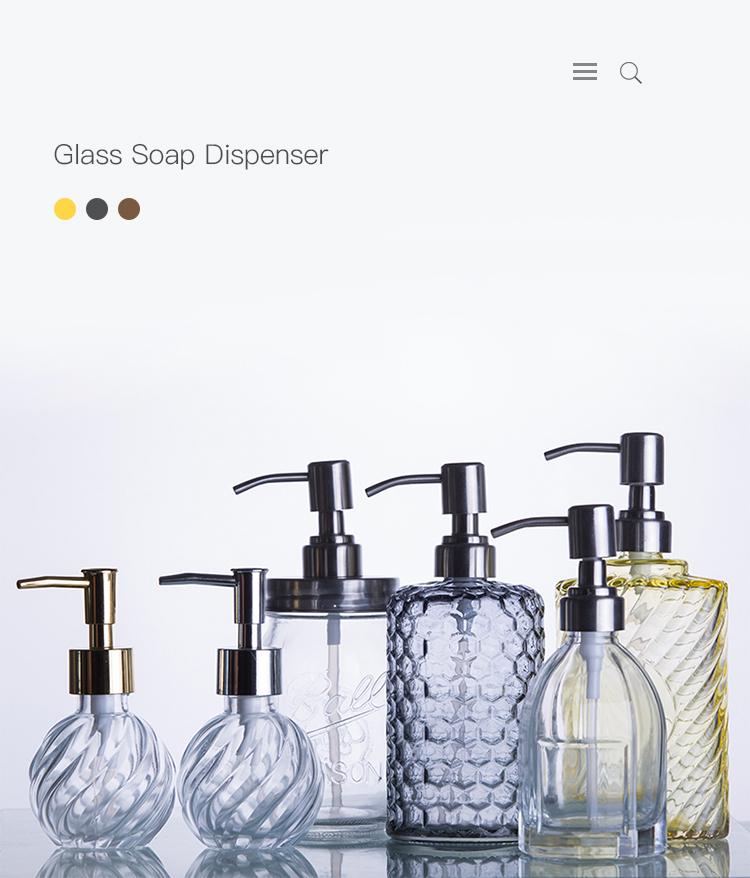 distributeur de savon liquide en verre personnalise avec pompe pour savon liquide nouveau buy distributeur de savon liquide distributeur de savon en