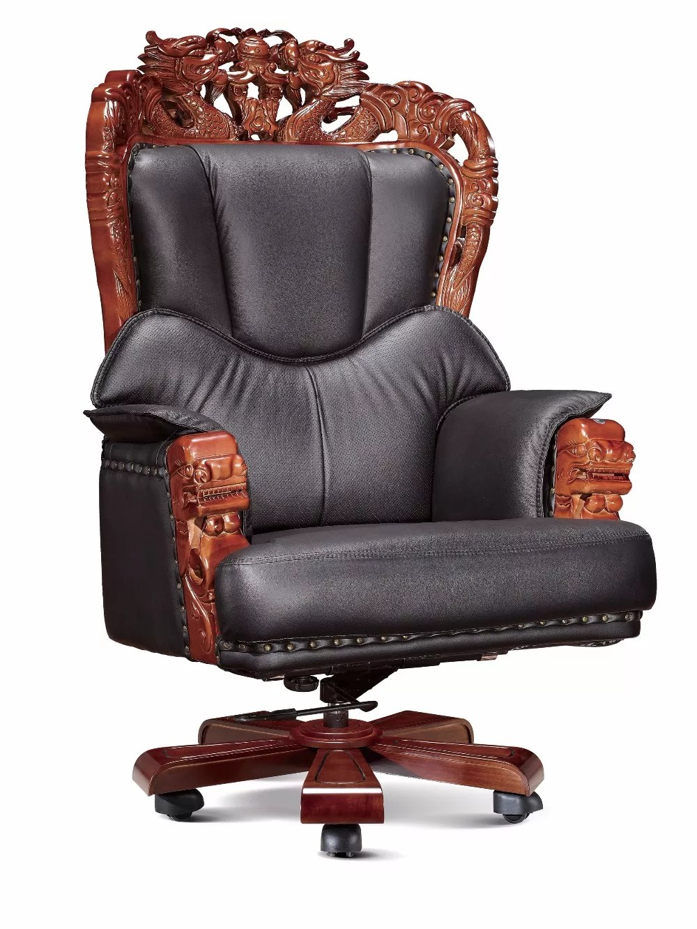 Deluxe Genuine Cowhide Furniture Swivel Executive Ceo Office Chair With Massage Function Buy Ceo Office Chair Genuine Leather Executive Chair Deluxe