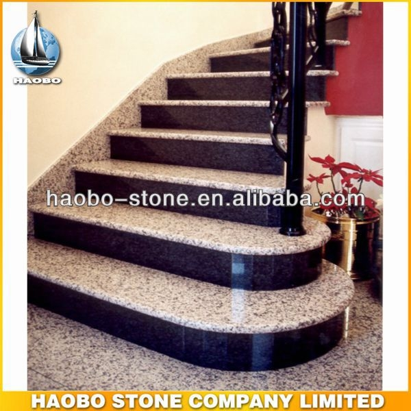 Haobo China Manufacture Granite Step Stone Stairs Design Buy   Staircase Steps Granite Design   Italian Marble Step   Elegant   Balcony   Moulding   Small House