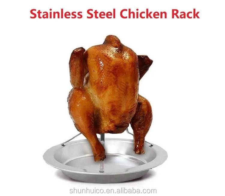 bbq chicken holder for baking stainless steel bbq chicken rack beer can chicken rack buy chicken rack bbq chicken rack bbq chicken holder product on