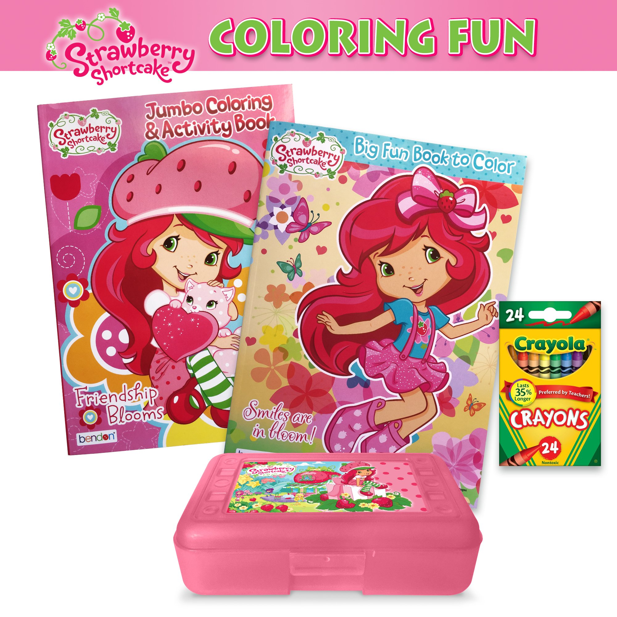 Strawberry Shortcake Coloring Crayola Photo Coloring Pages