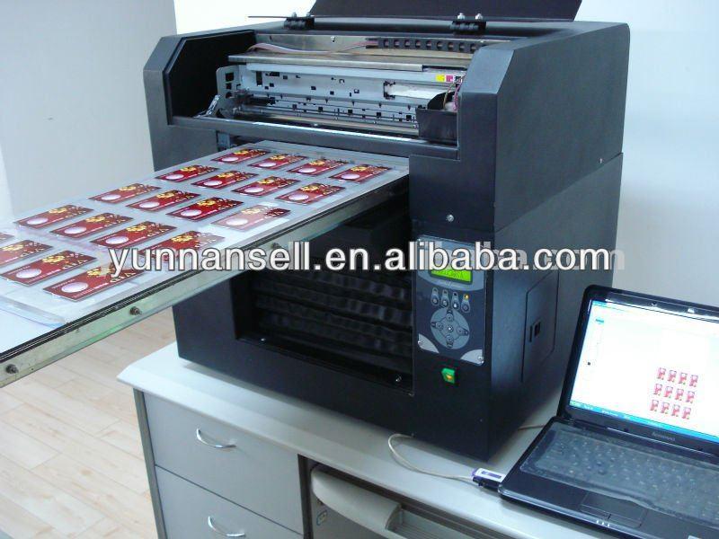 Automatic Wedding Invitation Card Printing Machine Pvc Business Printer Printinting