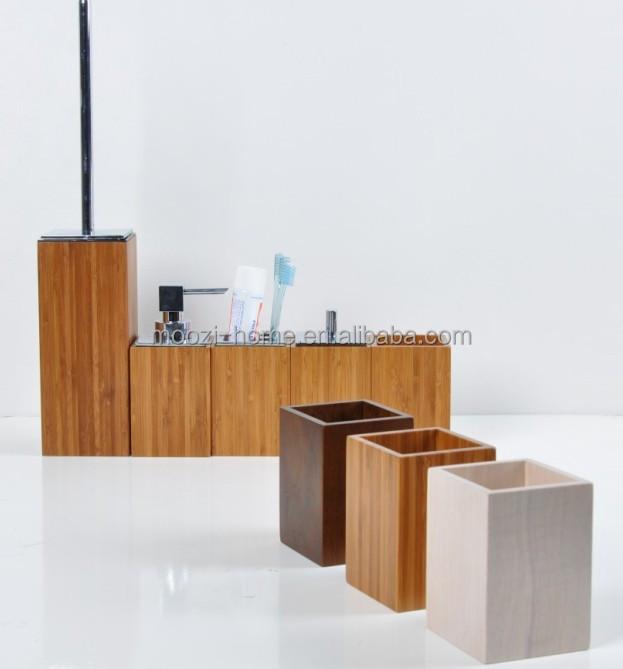 wood bathroom accessories tsc