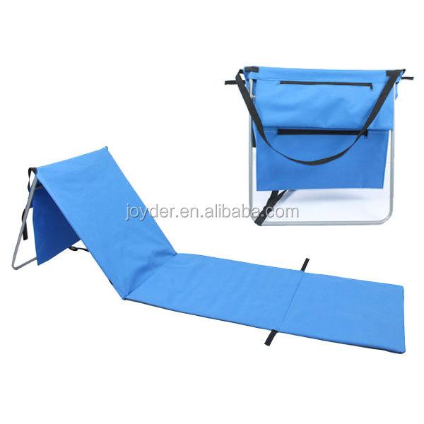chaises de plage pliables en paille