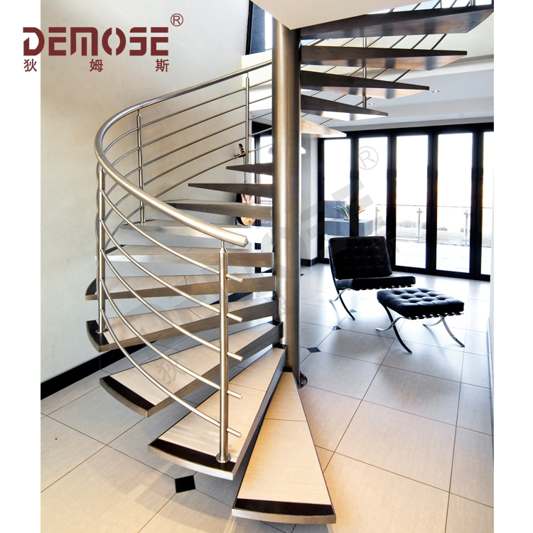 Modern Wood Spiral Staircase Metal Stair Treads Prices Buy Metal   Modern Wood Stair Treads   Country Style   Box   Square Edge   Eased   Open Riser