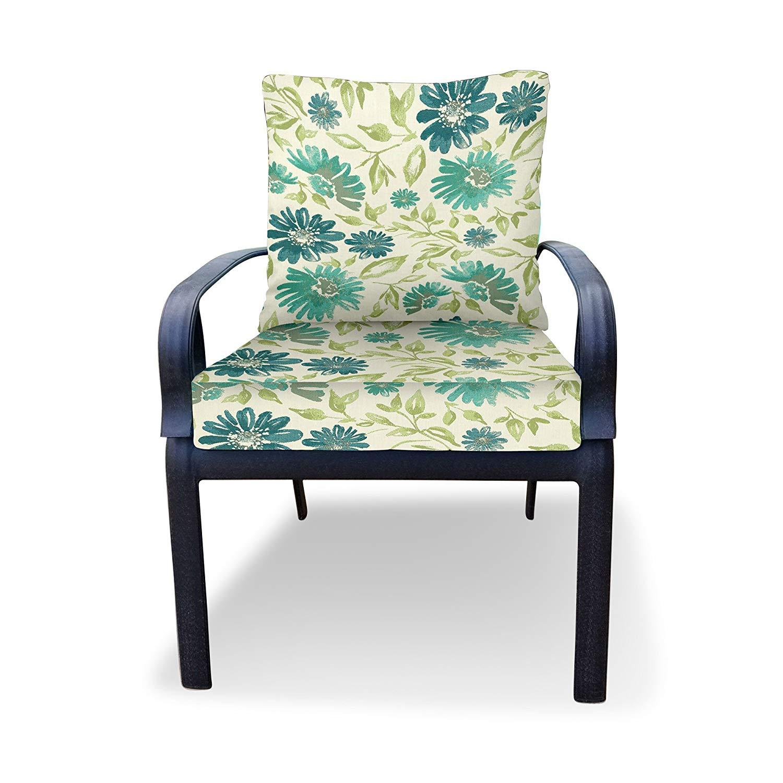 cheap green patio chair cushions find