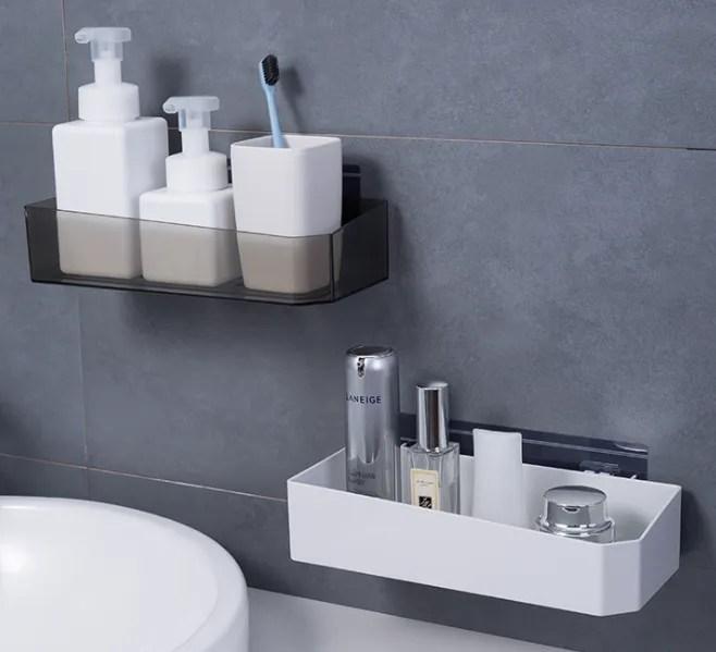 etagere de salle de bain en aluminium support d angle de rangement adhesif gel de douche panier a shampooing chaud buy etageres de salle de