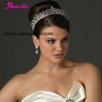 rhinestone royal big bridal tiara wedding hair crown buy bridal tiara wedding hair crown big wedding tiara tiara wedding product on alibaba com