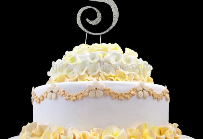 12cm Letter S Capital Alphabet Crystal Birthday Cake Topper Buy