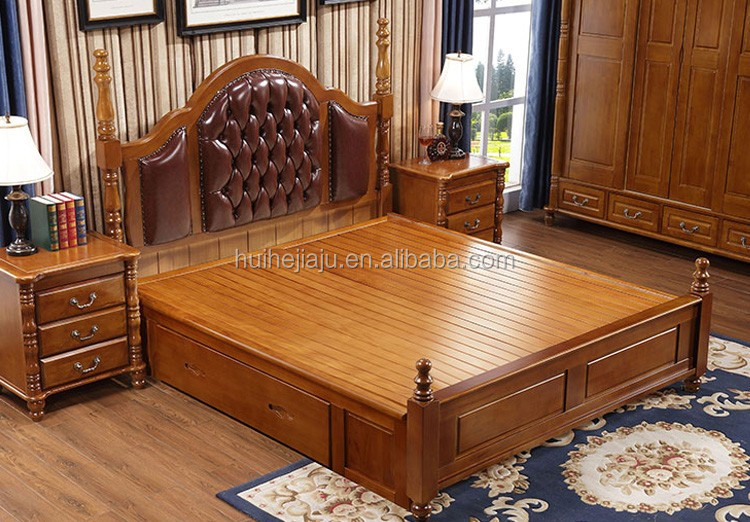Professionally Customized Hand Carved Wood BedsWooden Box