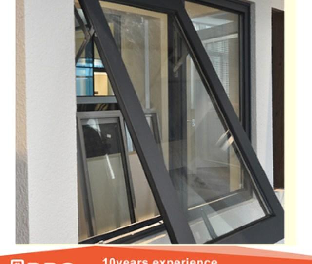 Modern Hot Design Australian Standard Double Glazed Cheap Small Aluminum Glass Top Hung Window Awning Windows