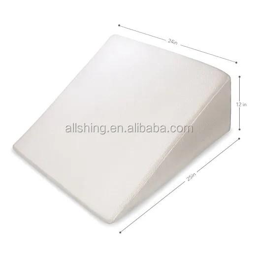 bed wedge pillow memory foam pillows