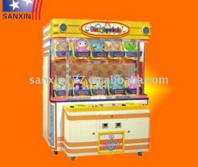 Crazy Skill Toy Catcher Game Machine