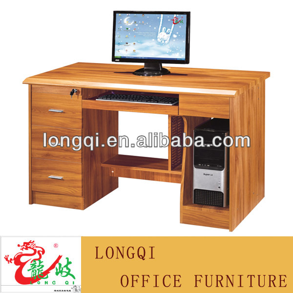 meubles d ordinateur de bureau double