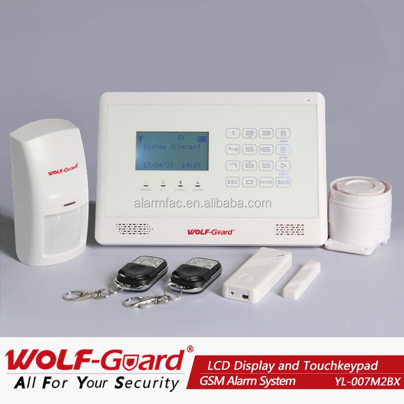 Wireless Alarm System Jamming