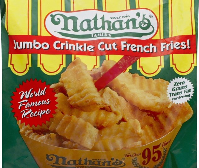 Get Quotations  C B Nathans Famous Jumbo Crinkle Cut French Fries  Oz Frozen