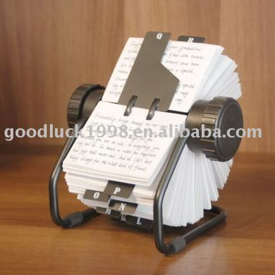 Rotating Business Card Holder   Oxynux Org Business Card Holder Name