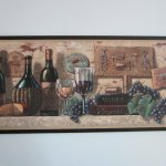 Buy Wine And Cheese Wall Decor Plaque Italian Or French Style Kitchen In Cheap Price On Alibaba Com
