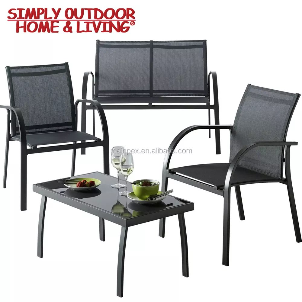 outdoor new style 4 seater used cast iron patio furniture cheap metal garden sofa set buy metal sofa garden sofa set used cast iron patio furniture