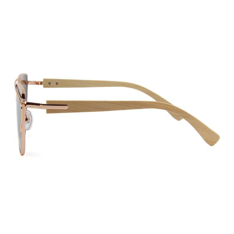 HTB1ZqncglDH8KJjSspnq6zNAVXaC BARCUR Bamboo Cat Eye Sunglasses Polarized Metal Frame Wood Glasses Lady Luxury Fashion Sun Shades With Box Free