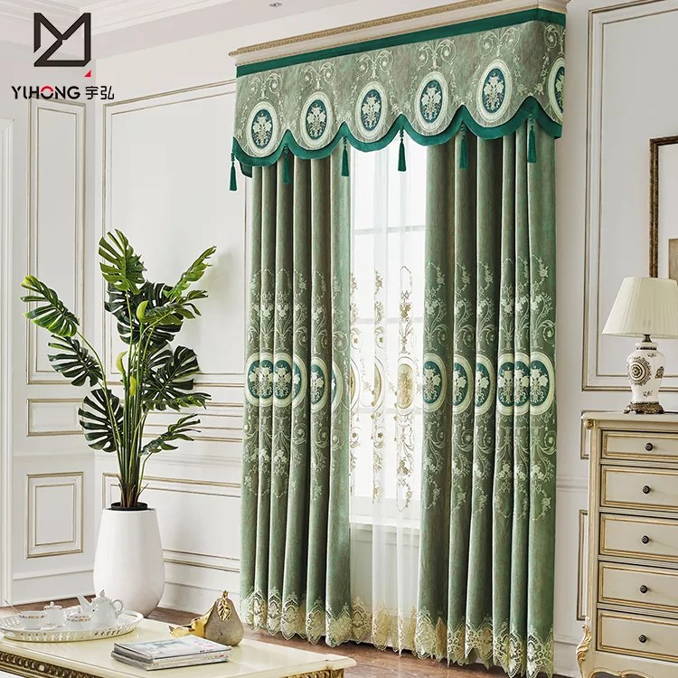 cheap price new design turkey jacquard fabric home curtain living room window curtains view window curtains yuhong product details from guangzhou