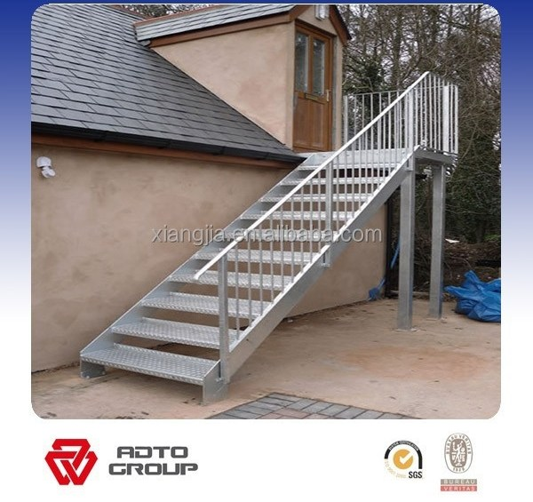 Simple Prefab Outdoor Steel Stairs Buy Prefab Stairs Prefab Steel   Prefab Outdoor Wood Stairs   Closed Stringer   Concrete   Stair Handrail Outdoor   Commercial   Prefab Metal