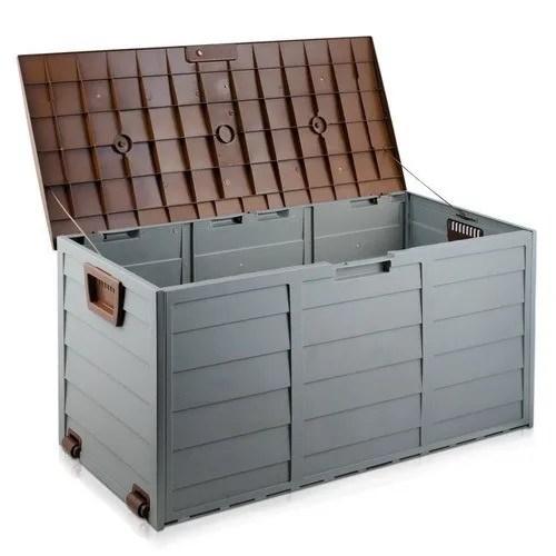 boite de rangement en plastique 50 pieces coffre fort boite de rangement nouveau jardin exterieur bac de rangement pont coussin boite de patio buy