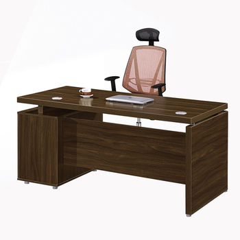 Melamine Wooden Large Office Executive Desk Furniture With Side Table View Office Executive Desk Furniture Chuangfan Wooden Office Excutive Desk Product Details From Guangzhou Chuangfan Office Furniture Factory On Alibaba Com