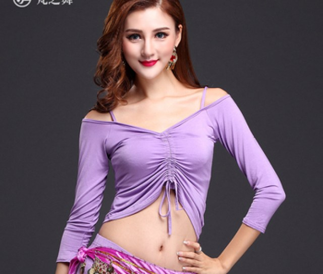 S432 Export Cheap Modal Adjustable Sexy Arabic Hot Belly Dance Top