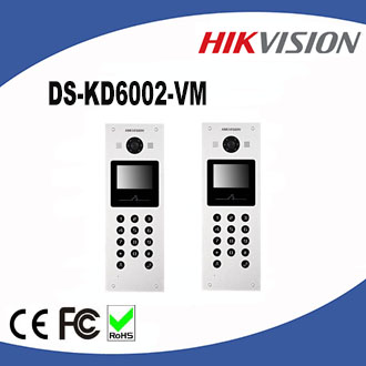 Hikvision Ip Multi Apartments Video Door Phone With 1 3 Mp Hd Colorful Camera