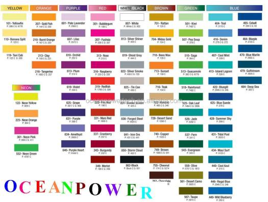 Wall Paint Color Chart Supplieranufacturers At Alibaba Com
