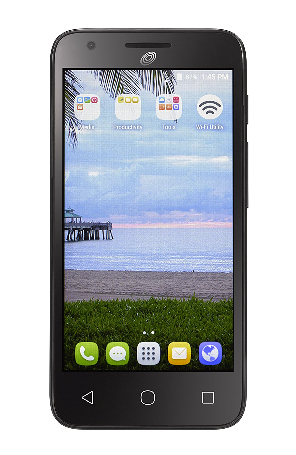 get quotations simple mobile alcatel onetouch pixi avion a570l 4g lte prepaid smartphone
