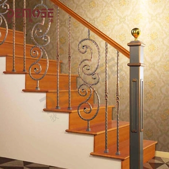 Decorative Interior Wrought Iron Stair Railings Buy Decorative | Iron Stair Railing Indoor | Cast Iron Balusters | Railing Kits | Interior Wrought | Rod Iron | Wood