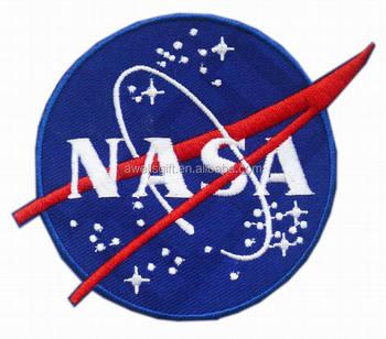 Nasa Space Agency Logo Fancy Dress Iron Sew On Patch Badge ...