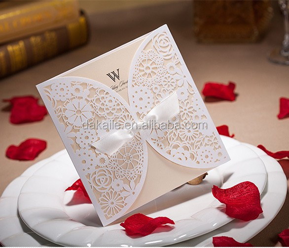 Arabic Wedding Invitation Card Designs Hot Laser Cut Invitations Whole
