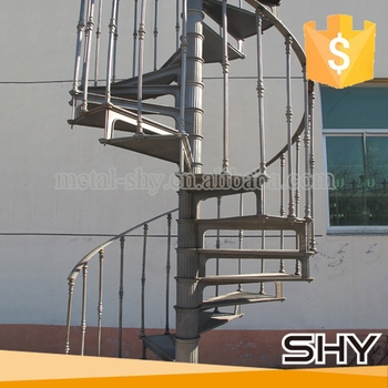 Cast Iron Used Metal Spiral Staircases Low Cost Staircase Design   Used Spiral Staircase For Sale Near Me   Staircase Kits   Demose Hardware   Wrought Iron   Railing   Stainless Steel