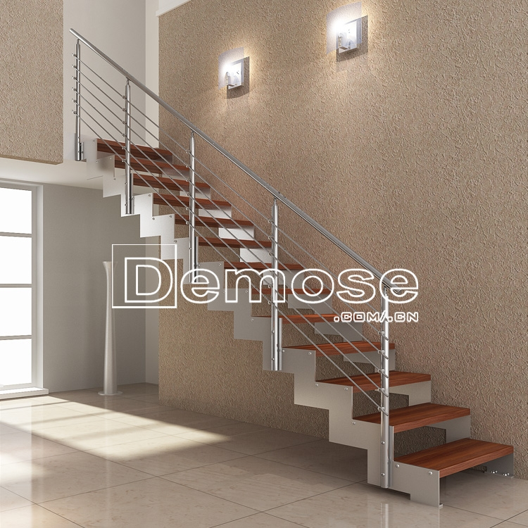 Indoor Prefab Stairs Railings Crystal Staircase For Home   Pre Made Stair Railings   Porch   Pressure Treated   Stair Treads   Aluminum Railing   Stair Stringers
