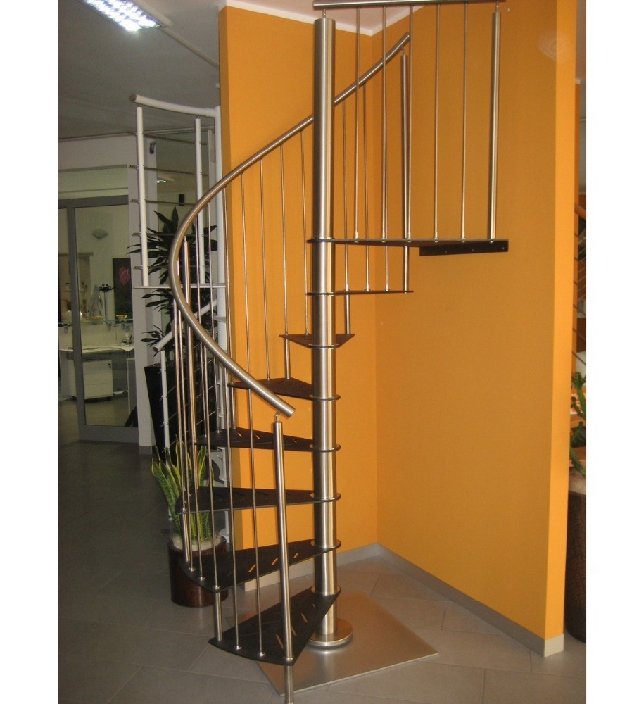 Prima Factory Space Saving Steel Spiral Staircase Prefabricated | Space Saving Spiral Staircase | Kid Friendly | Iron | Design | Mini | Roof Access