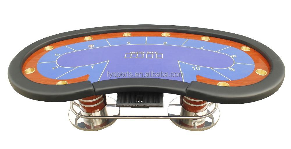 de luxe table de poker personnalise texas poker table avec porte gobelet buy tableau de tisonnier de holdem de texas de casino table de tisonnier de led