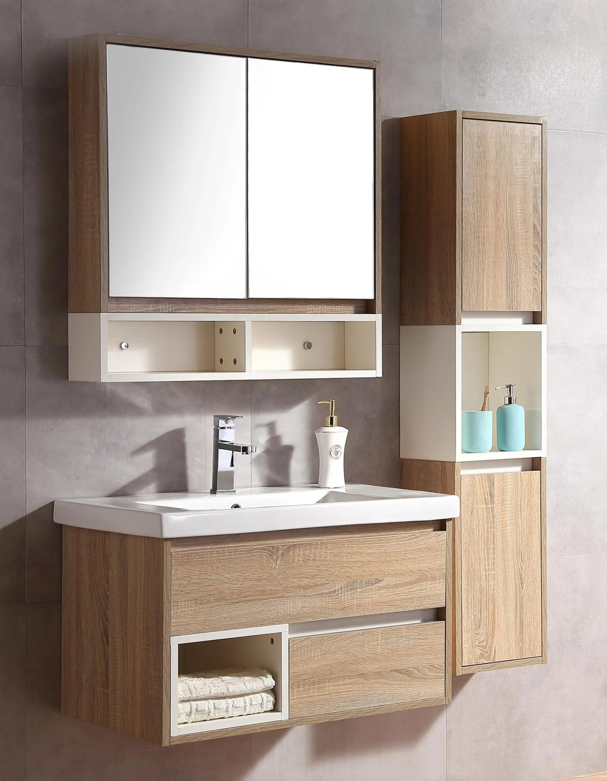 32 double sink bathroom vanity set floating bath cabinet with mirror and shelf buy bathrooms cabinet with double sink floating bath cabinet bath