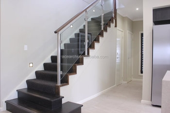 Low Price Cost Glass Stair Railing With Mirror Finish Glass | Glass Railing For Stairs Price | Curved Glass Balustrade | China | Spiral Staircase | Frameless Glass | Cable Railing