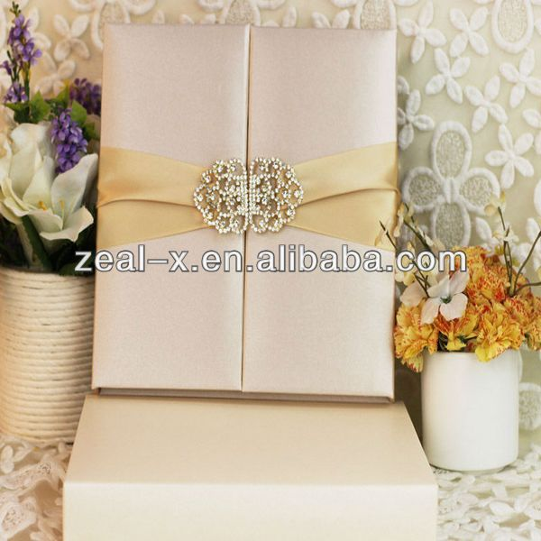 Luxury Wedding Invitations Silk Box