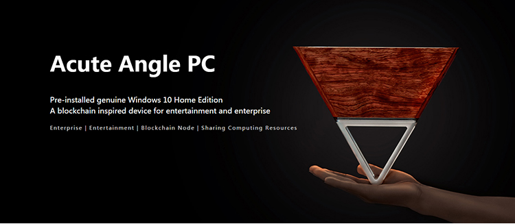 2018 new product triangle AAC acute angle miner a tiny computer master high income low electricity consumption