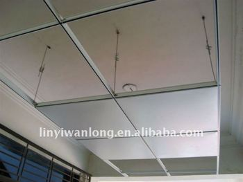 Ceiling T Grid With Pvc Gypsum Board Buy Ceiling Support