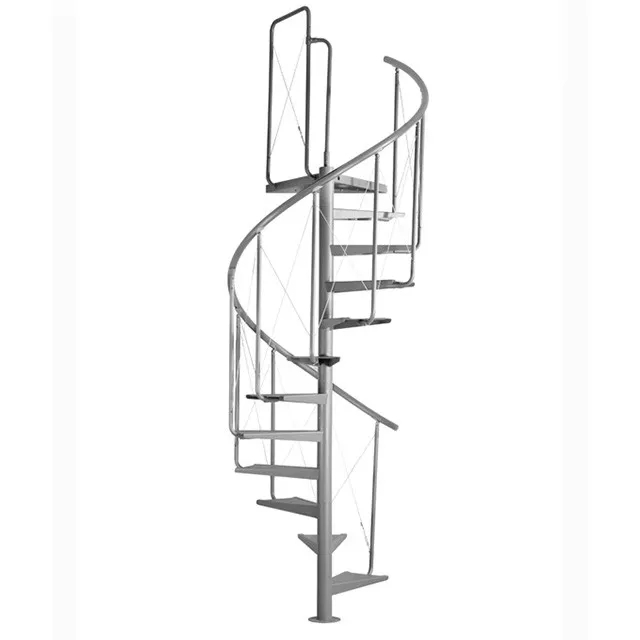 Low Price Spiral Stairs Staircases Steel With Wooden Steps Buy | Spiral Staircase Wooden Steps | Tiny House | Wrought Iron | Rustic | Creative | 2 Story