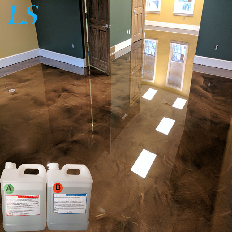 2 Parts Epoxy Resin Crystal Clear Liquid For 3d Painting Transparent Floor Paint Jewelry Wood Repair Buy Glitter Pigment Epoxy Floor Coating Systems Epoxy Resin With Metallic Pigment For Floor 2 Parts Epoxy Resin Crystal